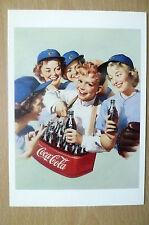 Advertising PostCard- DRINK COCA COLA , brand card @1991 Coca Cola Company