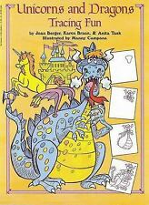 Unicorns And Dragons Tracing Fun, Task, Anita, Braun, Karen, Berger, Joan, New B