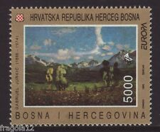 BOSNIA CROATIAN POST 1993 - EUROPA - ARTE CONTEMPORANEA - DK. 5000 - MNH