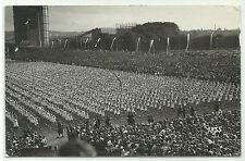 Turnen Turner Turnfest vor Gasometer riesige Teilnehmerzahl Foto-AK um 1910