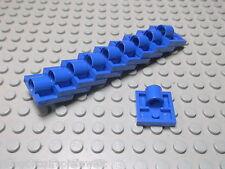 Lego 10 Platten 2x2 mit 1 Loch blau  2444 Set 4417 4483 4552 7163