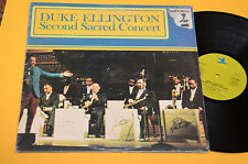 DUKE ELLINGTON 2LP SECOND SACRED CONCERT ITALY 1982 EX+ TOP JAZZ