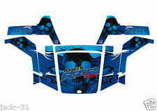 NG racing WRAP QUAD POLARIS RANGER RZR 170 MINI SKULL UTV MODEL 2009 - 2013