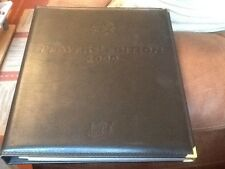 Futera Platinum Complete Leather Binder Manchester United 2000 Players Edition
