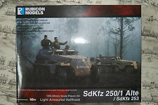 28MM GERMAN SDKFZ 250 HALFTRACK - RUBICON - 1/56 - WW2 - 1ST CLASS - BOLT ACTION