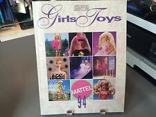 RARE MATTEL GIRLS TOYS TOY FAIR CATALOG 1994 BARBIE POLLY POCKET DISNEY & MORE