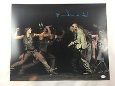 Norman Reedus Authentic The Walking Dead 16x20 Photo Autograph JSA Daryl Dixon 2