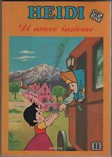 HEIDI dalla TV N.11 DI NUOVO INSIEME a fumetti comics editrice edierre 1978