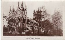 The Abbey Church, SELBY, Yorkshire RP