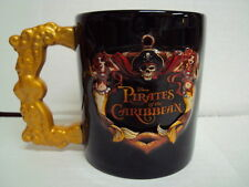 DISNEY PARKS / STORE  PIRATES OF THE CARIBBEAN 12oz CERAMIC MUG JACK SPARROW