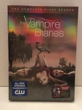 NEW SEALED The Vampire Diaries: The Complete First Season DVD 1st 4 Disc Box Set