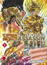 manga I CAVALIERI DELLO ZODIACO EPISODE G ASSASSIN N. 1 - panini planet ITALIANO