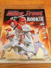 LA Angels Mike Trout 2012 R.O.Y 8x10 Photo-Free Shipping
