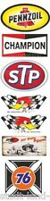 436 Set STP Aufkleber Sticker Gasoline Pennzoil Champion Oldtimer Youngtimer 76