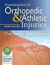 Free Ship - Examination of Orthopedic & Athletic Injuries by Chad Starkey 4th ED