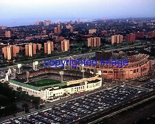 Old Comiskey Park Aerial shot with new Comiskey being buildt Color 8x10 Z