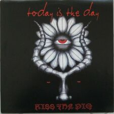 Today Is The Day Kiss The Pig GREY VINYL LP Record! grindcore RARE NOT NUMBERED!