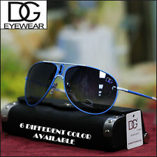 Men's DG Eyewear Aviator Sunglasses Casual Shades Fashion Driving Sports Blue