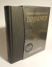 SIGNED CHRISTOPHER PAOLINI 'Brisingr' LIMITED EDITION NUMBERED, NEW/HC/SLIPCASE