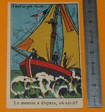 CHROMO 1905-1925 BON-POINT ECOLE CHANSON COMPTINE JEU CHERCHEZ...