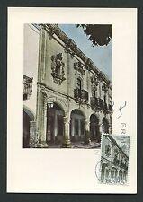 SPAIN MK 1970 CASA ESCALA MEXICO MAXIMUMKARTE CARTE MAXIMUM CARD MC CM c9084