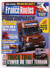 France Routes du 7/2002; Dragster Svempas/ Comparatif Scania 470,480 et 580 ch
