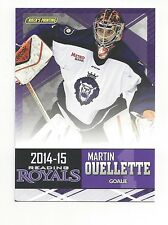 2014-15 Reading Royals Martin Ouellette (goalie)