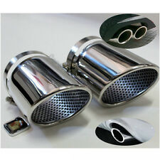 Chrome Exhaust Muffler Trims Pipes for VW Volkswagen Passat CC 2008-2012