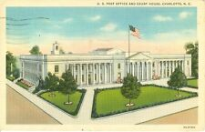 Charlotte,NC. The Post Office and Court House 1937