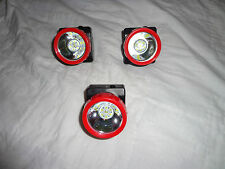 Lot of 3 Wireless LED Mining Work Lights Miners Lamps Hunting (NEW UPDATED)