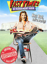 Fast Times at Ridgemont High  Widescreen Special Edition  2004 by Art Ex-library