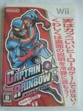 Nintendo Wii Captain Rainbow Japan F/S