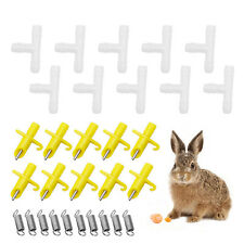 20Pcs NIPPLE WATERER DRINKERS WATER RABBIT GUINEA PIG FERRET RAT MOUSE FEEDER