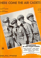 """ADVENTURES OF FLYING CADETS """"Here Come The Air Cadets"""" Bobby Jordan"""