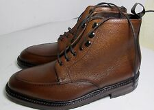 Loake Anglesey Grain Brown Boot 8 F - Slight Seconds RRP £245 (2896)