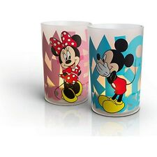 Philips Candle Led Lights Disney Mickey y Minnie (2 luces)-Bateria Recarg.- USB