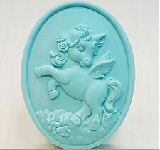 Lovely Unicorn S350 Silicone Soap molds Craft Molds DIY Handmade soap mould