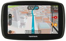 "TomTom GO 50S 5"" Portable Vehicle 3D GPS w/ Lifetime Maps & Traffic -1FC5.0"