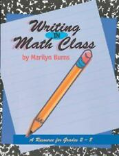 Writing in Math Class: Resource For Grades 2-8