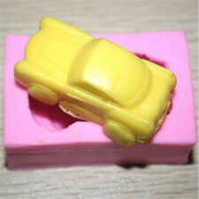 FD2727 Silicone Fondant Mould Cake Decorating Soap Candy Baking Mold ~3D Car~♫