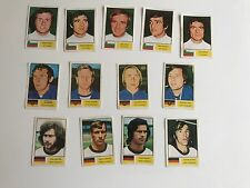 Spares - FKS Wonderful World of Soccer Stars, World Cup 1974 - BUL, E&W GERMANY