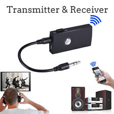 2in1 Bluetooth Receiver & Transmitter Wireless 3.5mm Audio Music Adapter Audio