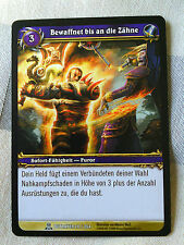 Bewaffnet Furor World of Warcraft Tradingcard Blizzard Entertainment TCG WOW