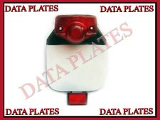 Royal Enfield Rear Number Plate With Reflector and tail light