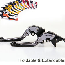 Folding Extending Brake Clutch Levers For Yamaha YZF R1 2004-2008 2007 2006 2005