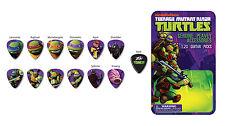 """Peavey Genuine """" TMNT """" 12 Pack Guitar Picks  Teenage Mutant Ninga Turtles"""