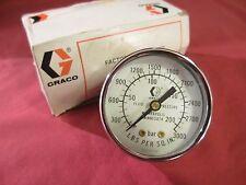 Graco 2 96, Pressure Gauge, 0-200 Bar, 0-3000 PSI