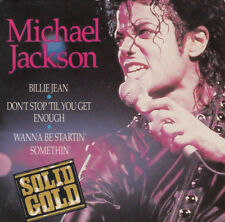 "Michael Jackson – Solid Gold - Billie Jean - 3"" cd single Cardboard Sleeve RARE"