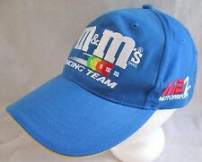 2000 M&M'S RACING TEAM BLUE BASEBALL CAP HAT #36 ERNIE IRVAN M&M SNAPBACK