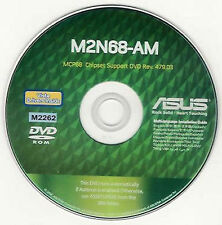 ASUS M2N68-AM Motherboard Drivers Installation Disk M2262